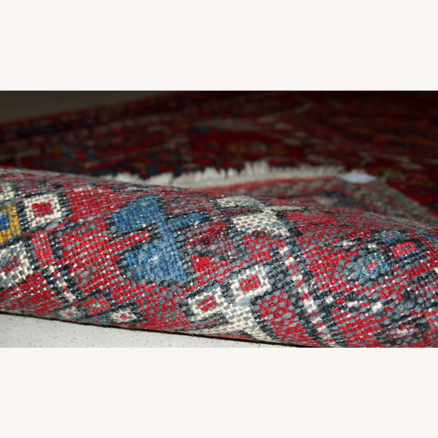 Handmade Antique Persian Karajeh Runner - image-1