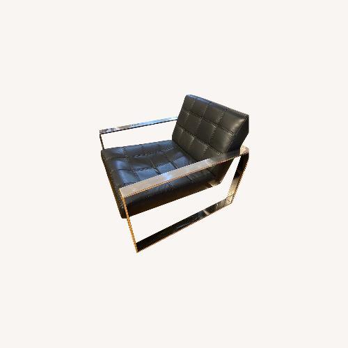 Used Modani Savina Armchair Black for sale on AptDeco