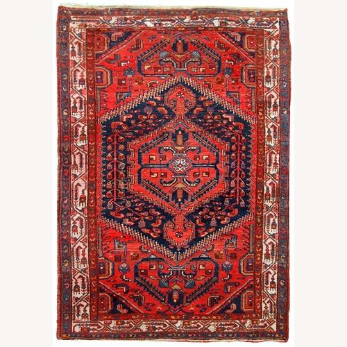 Used Handmade Vintage Persian Hamadan Rug for sale on AptDeco
