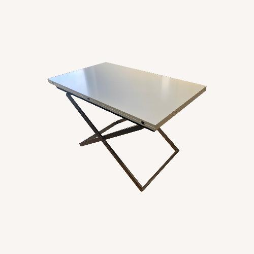 Used BoConcept White Rubi Table for sale on AptDeco