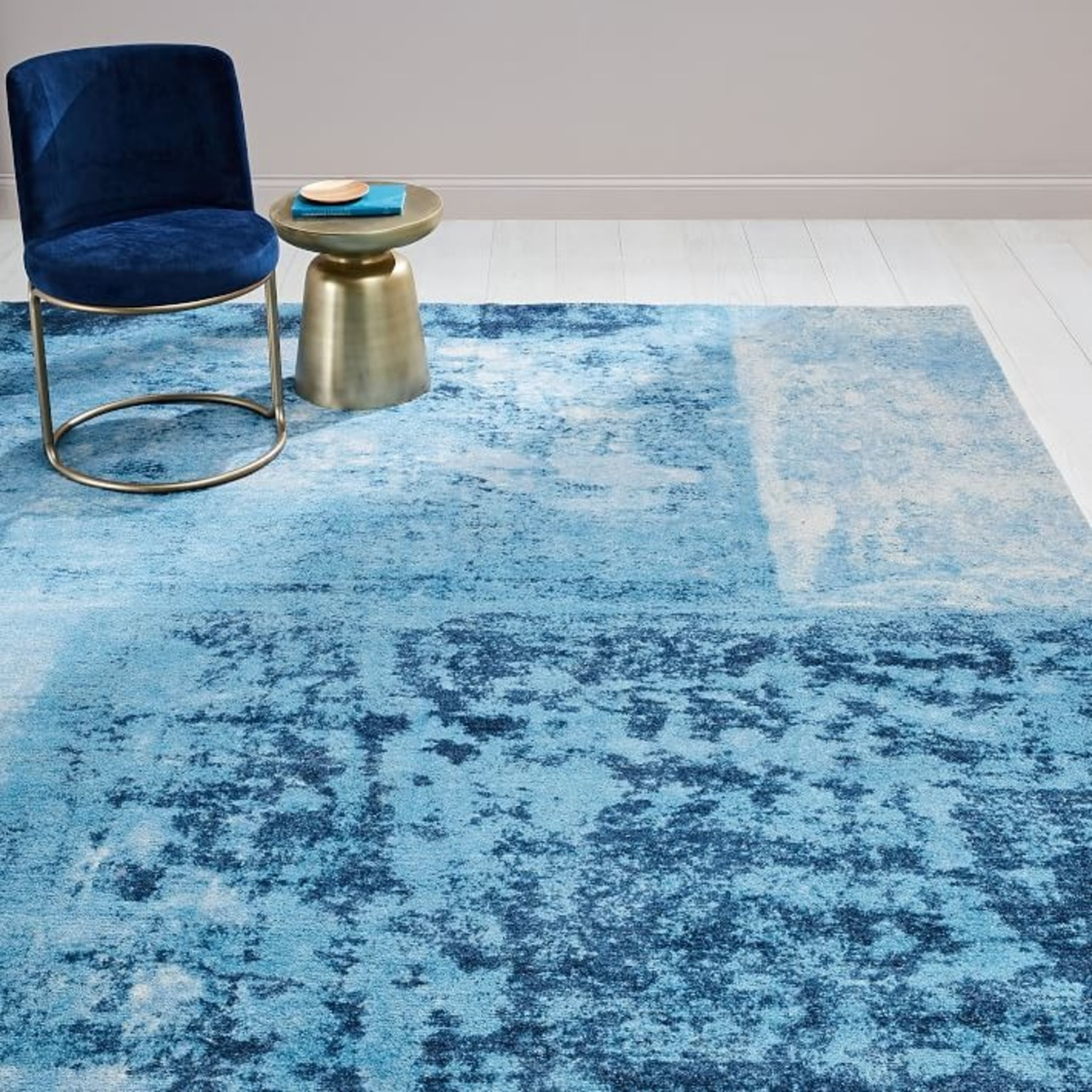West Elm Distressed Rococo Rug - image-2