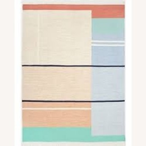 Used West Elm Offset Ombre Performance Rug for sale on AptDeco