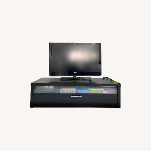 Used Wenge TV/Media Stand for sale on AptDeco