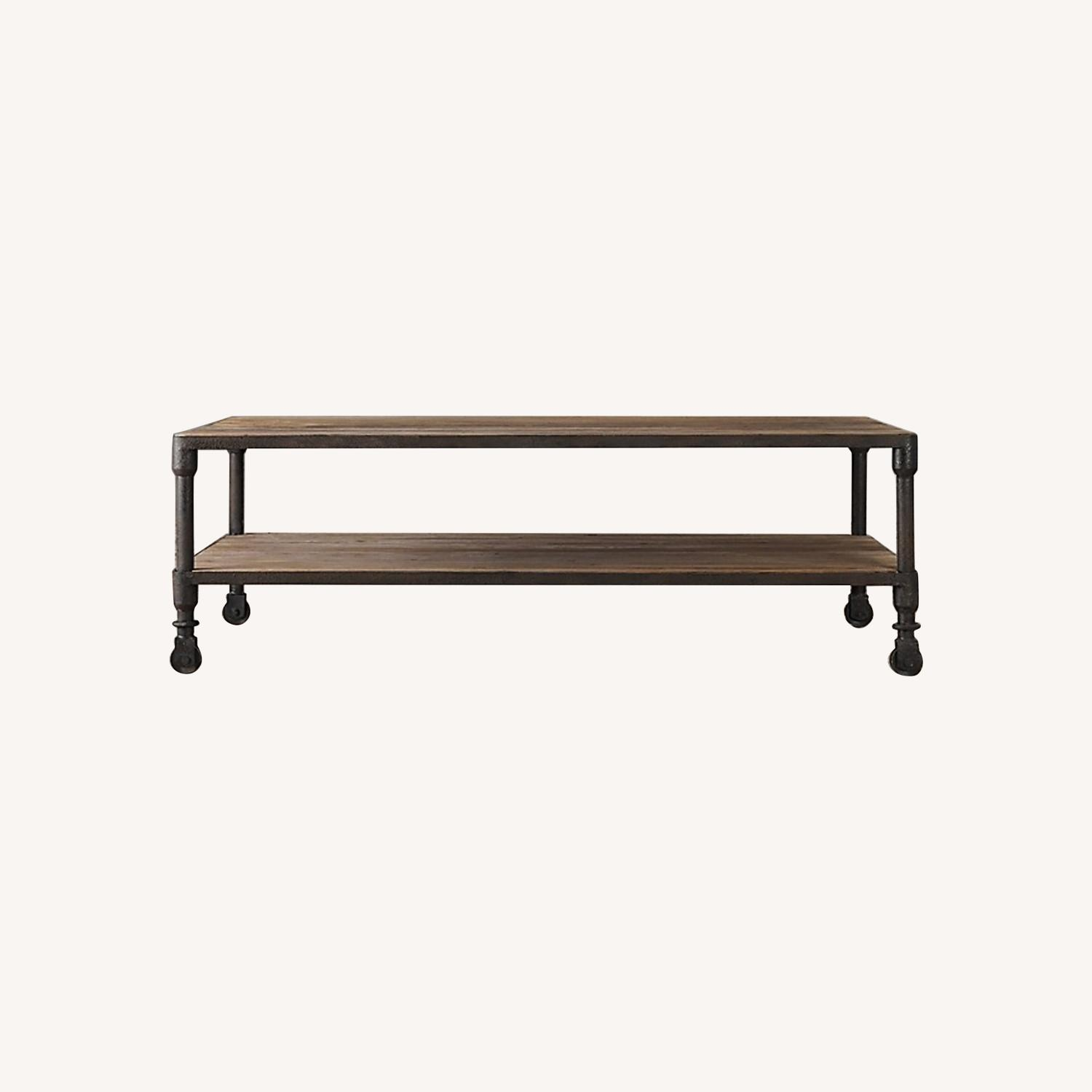 Restoration Hardware Dutch Industrial Coffee Table - image-0