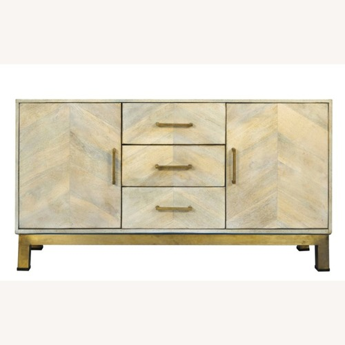 Used One King's Lane: Justinian Credenza, Natural for sale on AptDeco