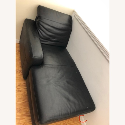 Used IKEA Torekov Genuine Leather Sofa for sale on AptDeco