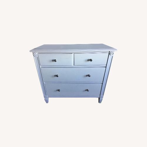 Used Restoration Hardware White Wood Dresser for sale on AptDeco