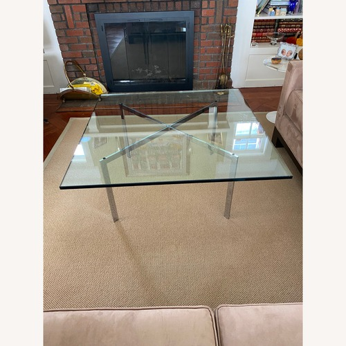 Used Design Within Reach Glass Coffee Table for sale on AptDeco