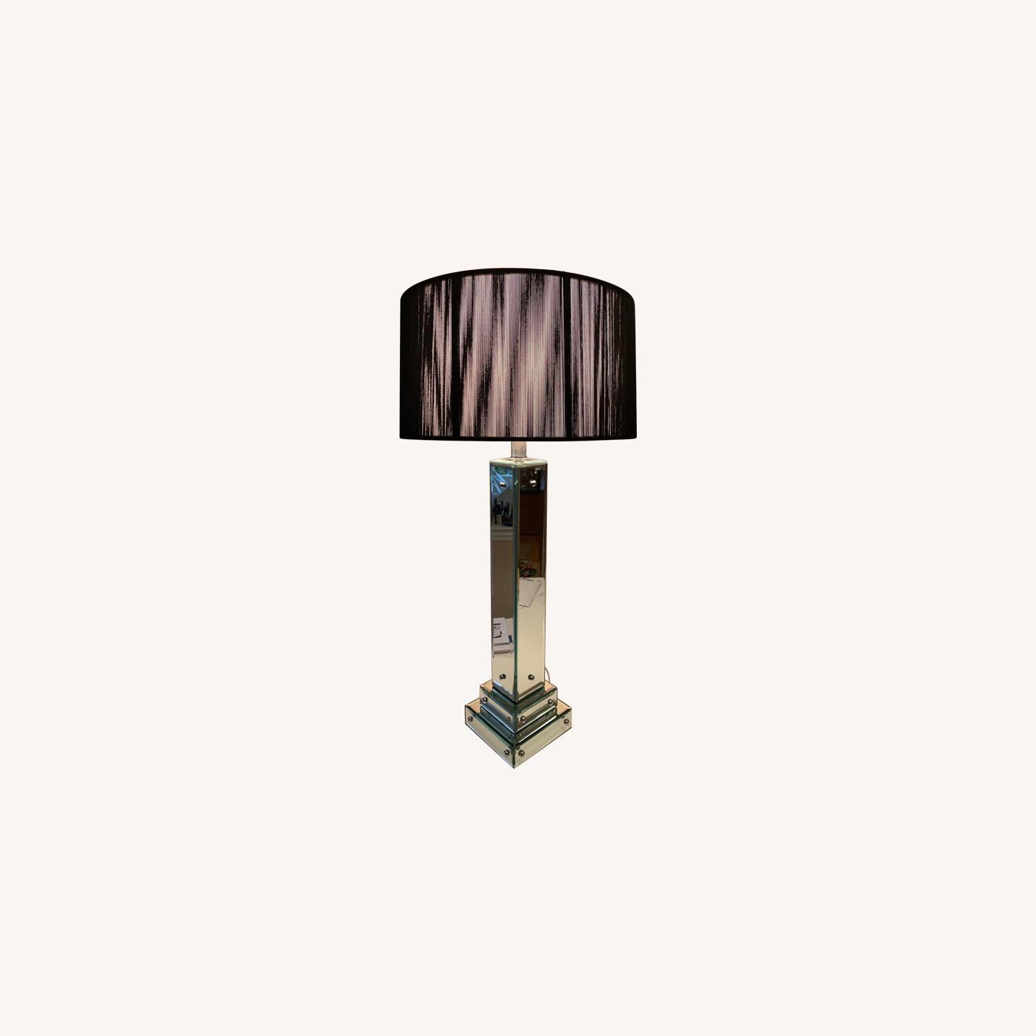 Picture of: Art Deco Glass Lamp With Abc Carpet Home Shade Aptdeco