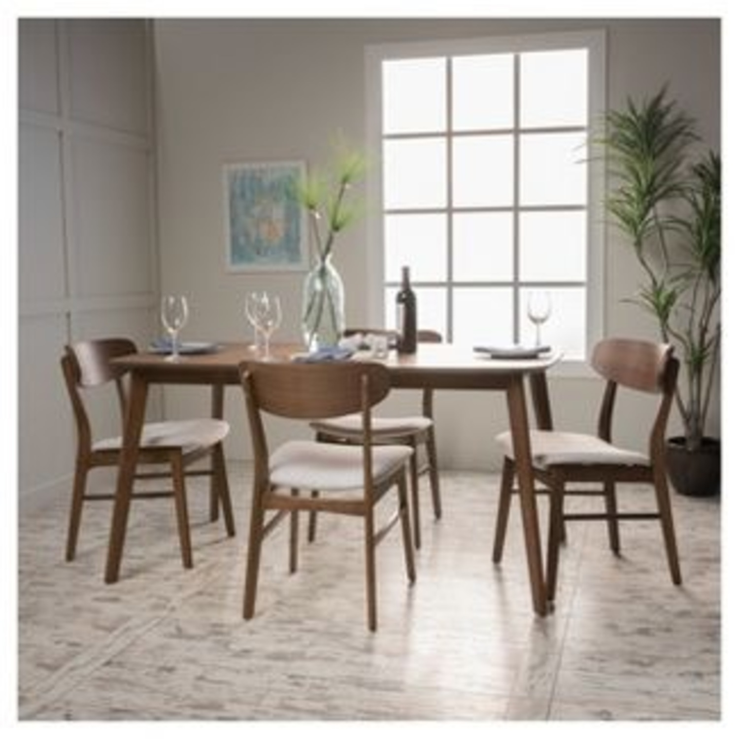 Christopher Knight Home Walnut Dining Chairs - image-3
