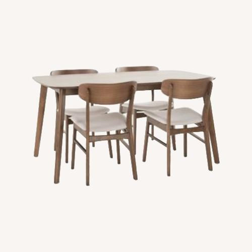 Used Christopher Knight Home Walnut Dining Chairs for sale on AptDeco