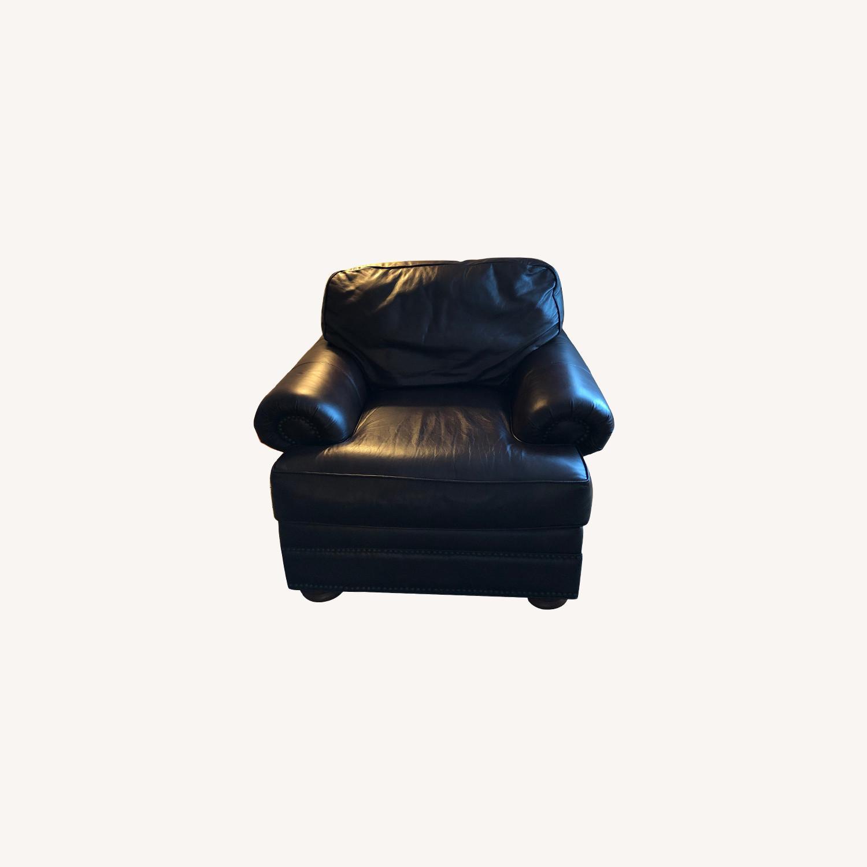 Vintage Leather Seat - image-0