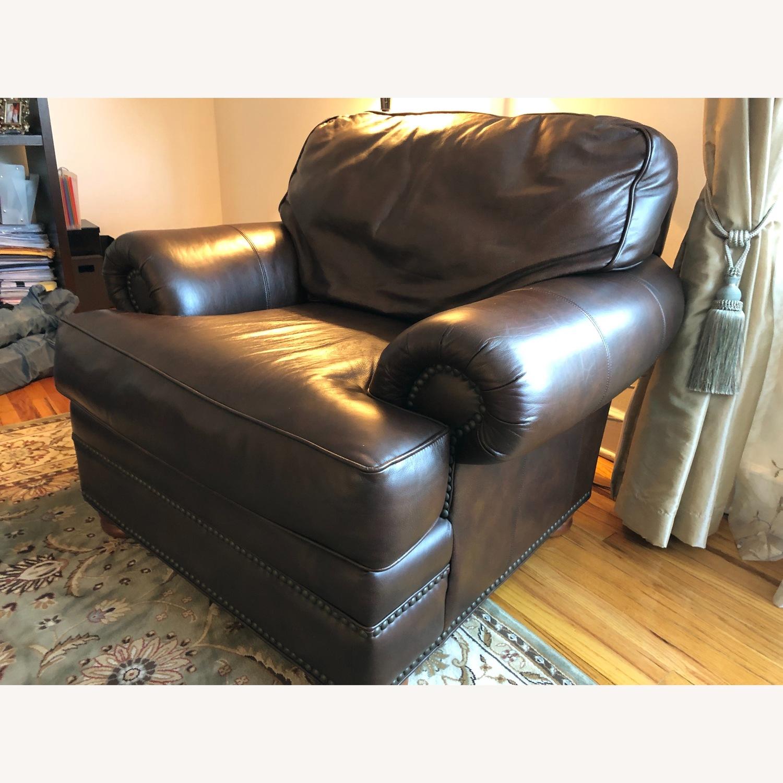 Vintage Leather Seat - image-3