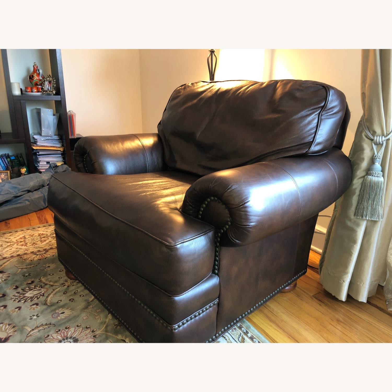 Vintage Leather Seat - image-1
