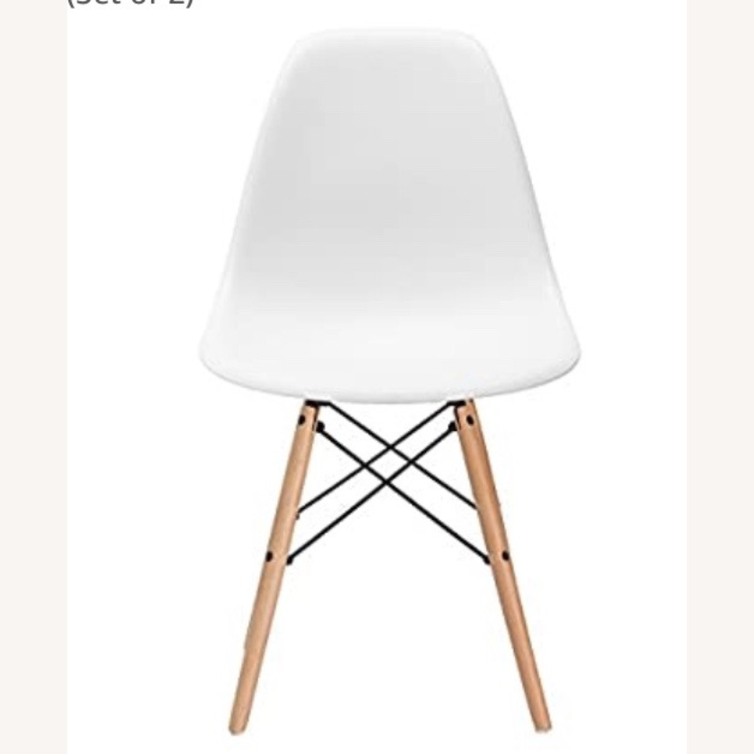 Poly and Bark Modern Mid-Century Side Chair - image-1