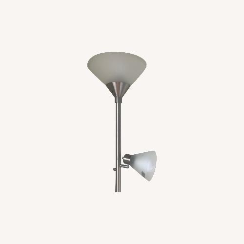 Used Target Floor Steel Lamp for sale on AptDeco