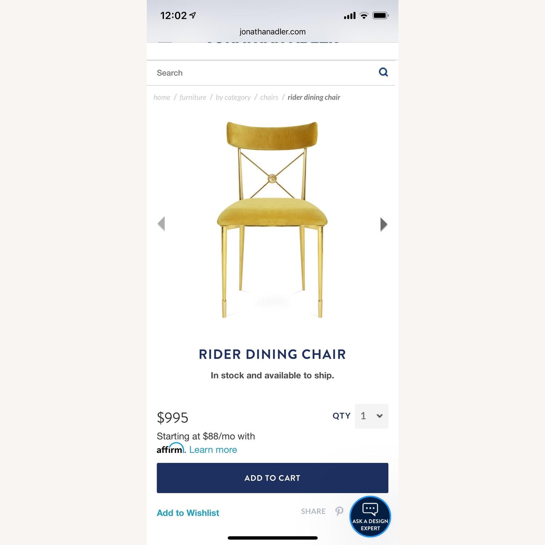 Jonathan Adler Rider Dining Chairs - image-1