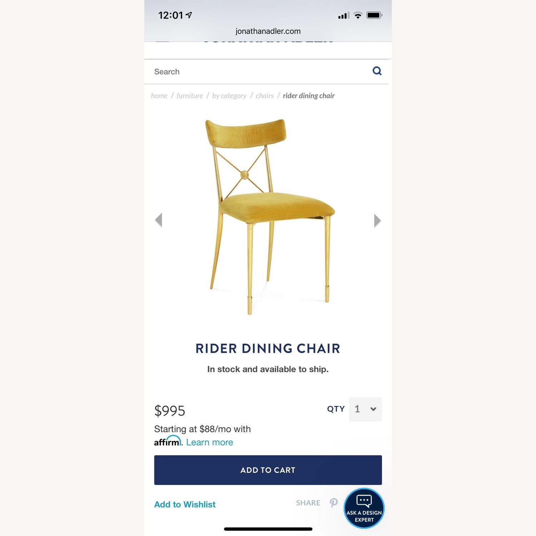 Jonathan Adler Rider Dining Chairs - image-2