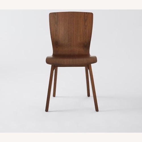 Used West Elm Crest Bentwood Chairs Set of 2 for sale on AptDeco