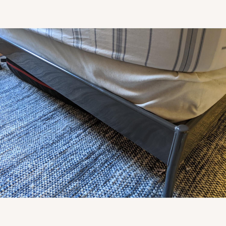 Ikea Kopardal Grey Queen Bed Aptdeco