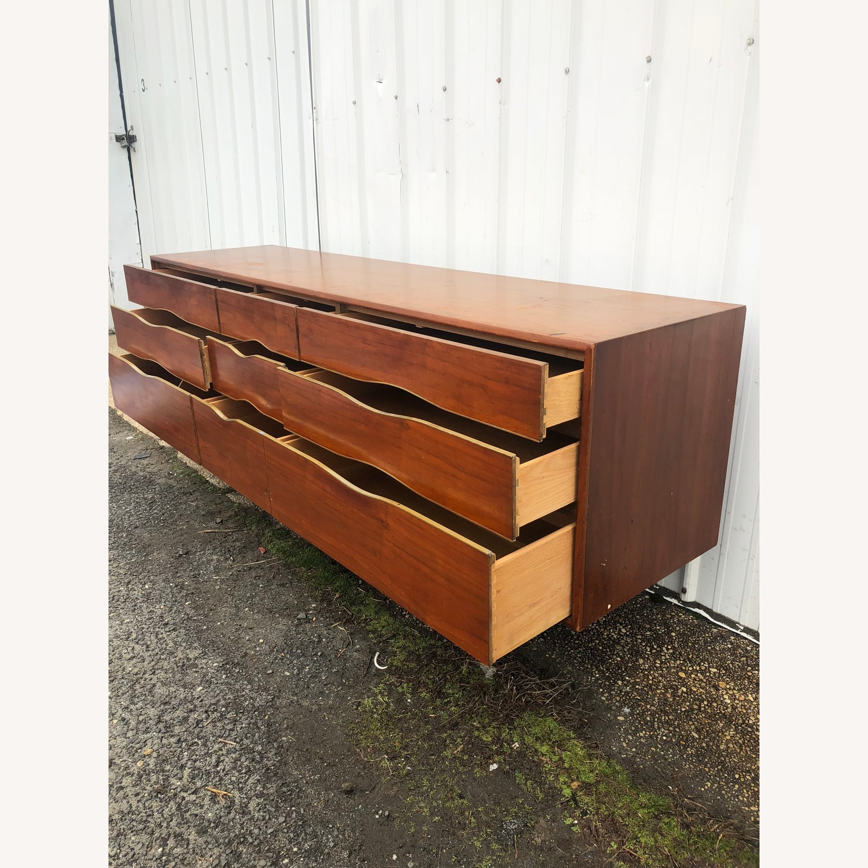 Mid Century Modern Lowboy Dresser - image-10