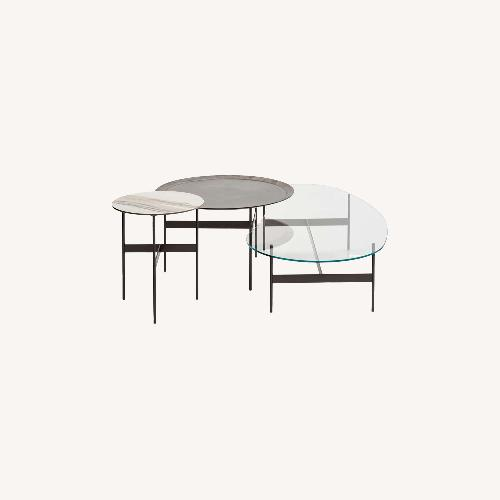 Used B&B Italia Glass Coffee Table for sale on AptDeco