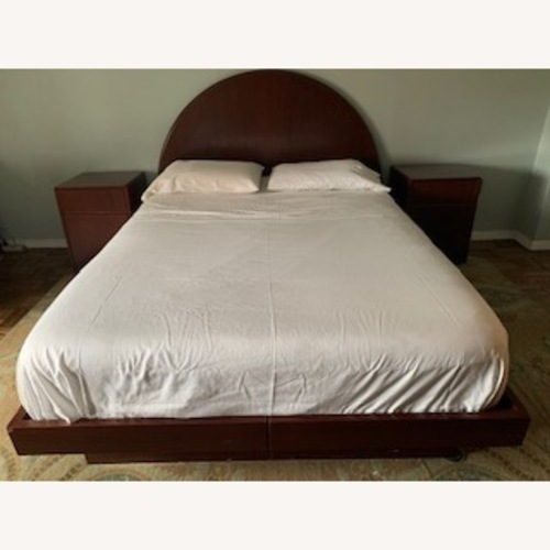 Used Paul Mayen Queen Bed and Headboard Mid Century for sale on AptDeco