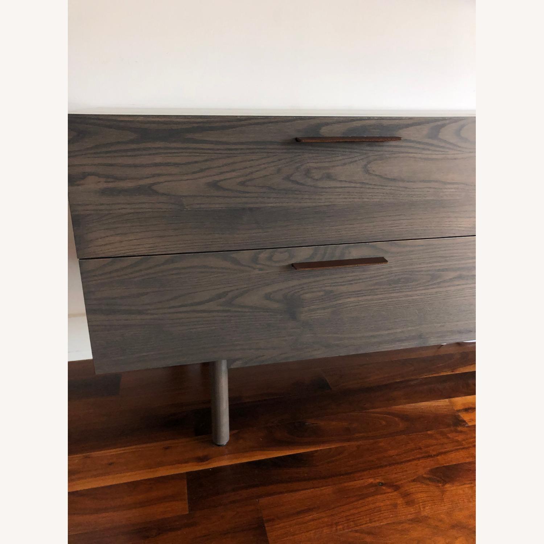 Blu Dot 2 Drawer / 2 Door Dresser in Shale - image-14
