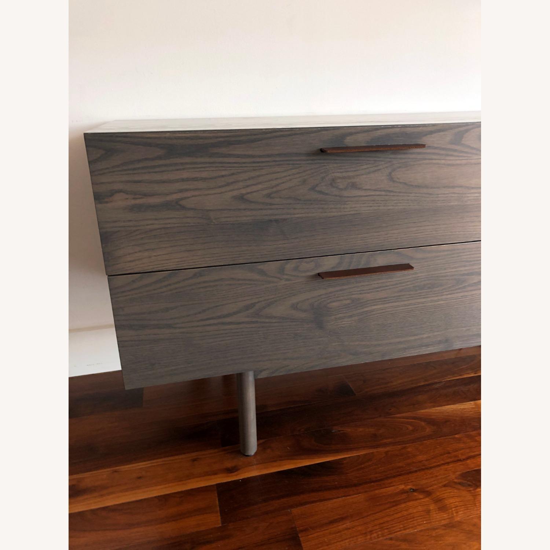 Blu Dot 2 Drawer / 2 Door Dresser in Shale - image-3