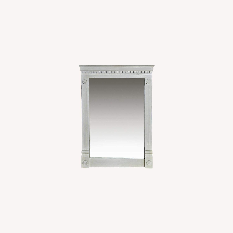 Vintage Beveled Glass Mirror - image-0