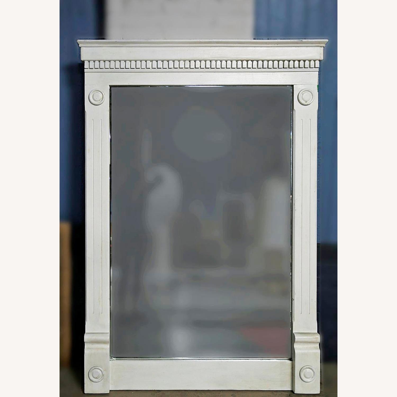 Vintage Beveled Glass Mirror - image-2