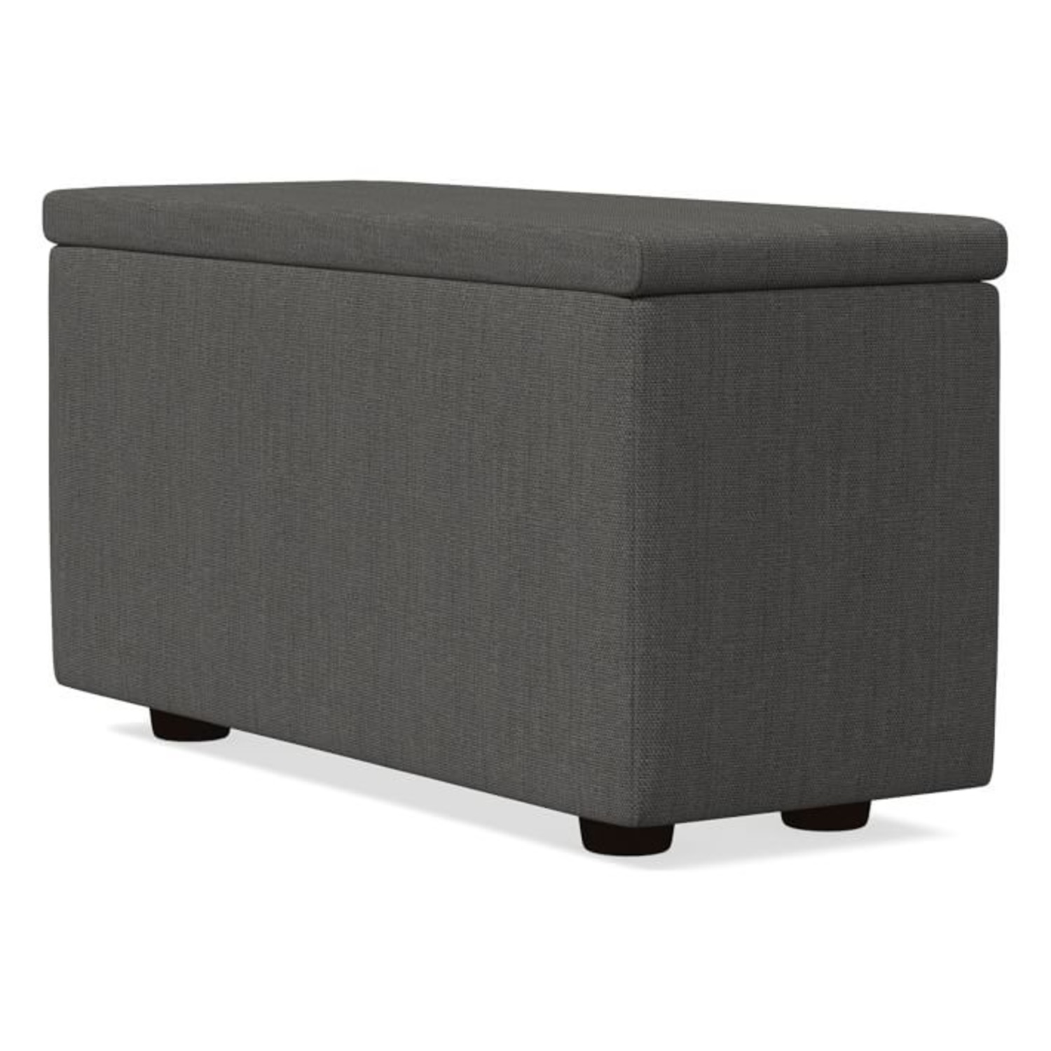 West Elm Enzo Sectional Arm With Storage - image-3