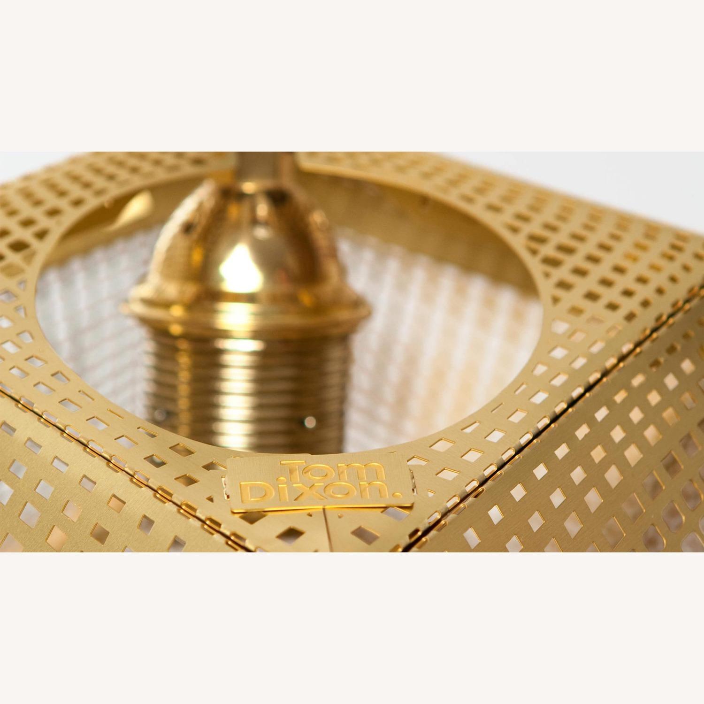 Tom Dixon Etch Mini Pendant Light in Brass - image-9