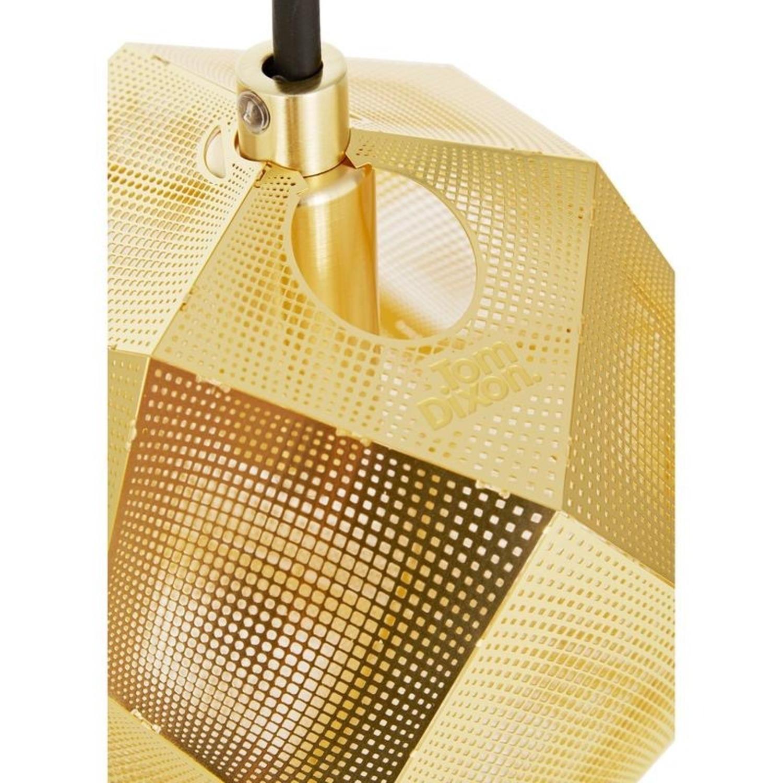 Tom Dixon Etch Mini Pendant Light in Brass - image-8