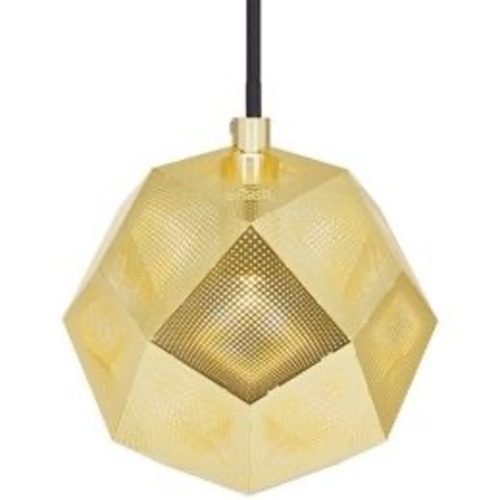 Used Tom Dixon Etch Mini Pendant Light in Brass for sale on AptDeco