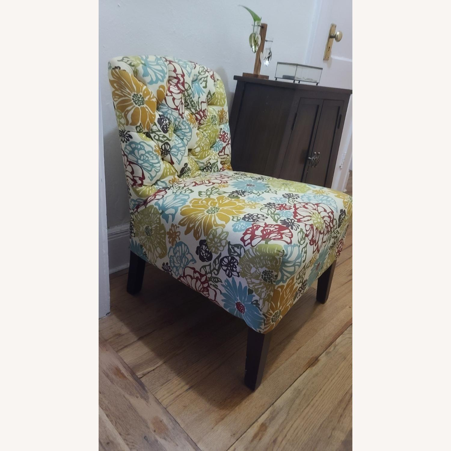 Pattern Pier 1 Accent Chair - image-1