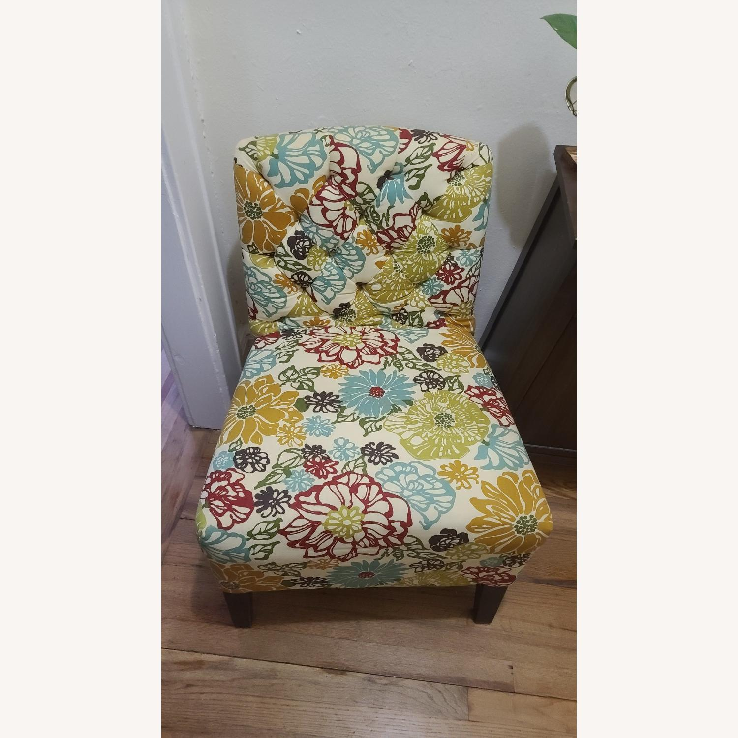 Pattern Pier 1 Accent Chair - image-2