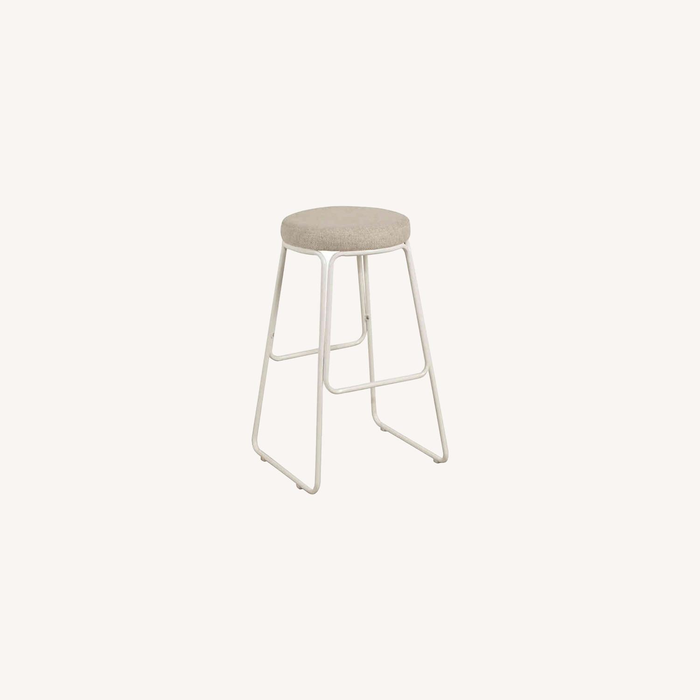 Hillsdale Furniture Metal Upholstered Southlake Bar Stools