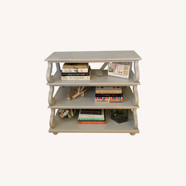 Ballard Designs 4 Shelf Side Table - image-3