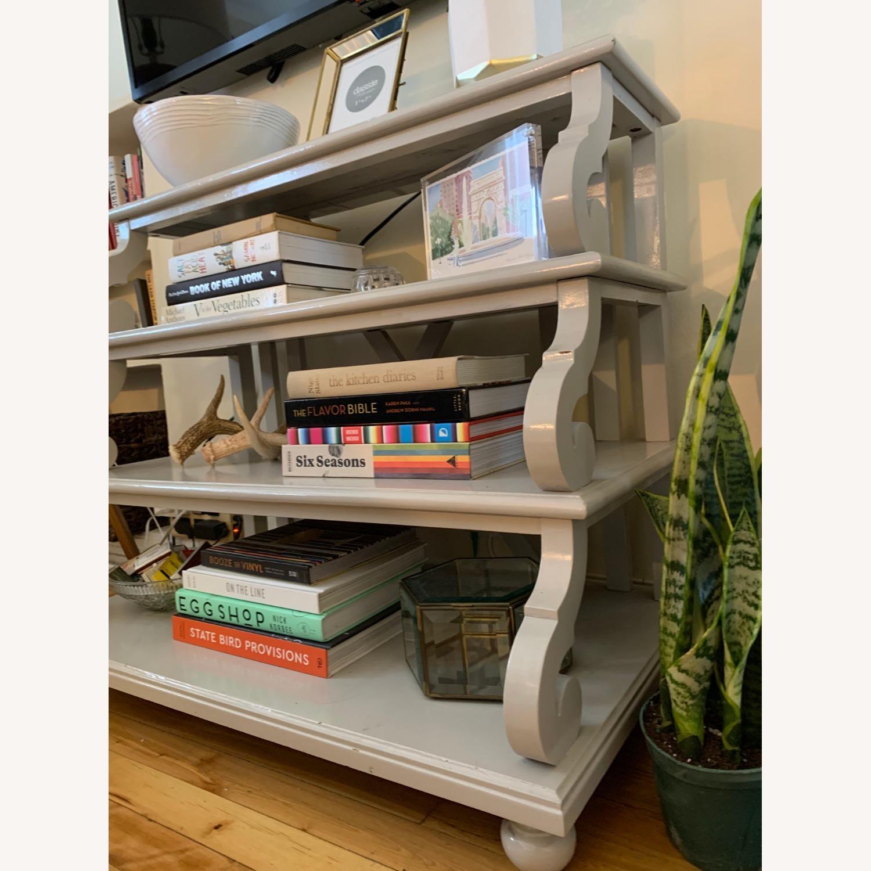 Ballard Designs 4 Shelf Side Table - image-1