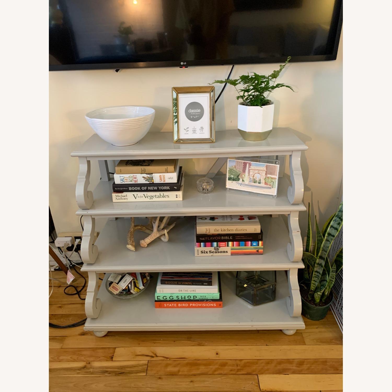 Ballard Designs 4 Shelf Side Table - image-0