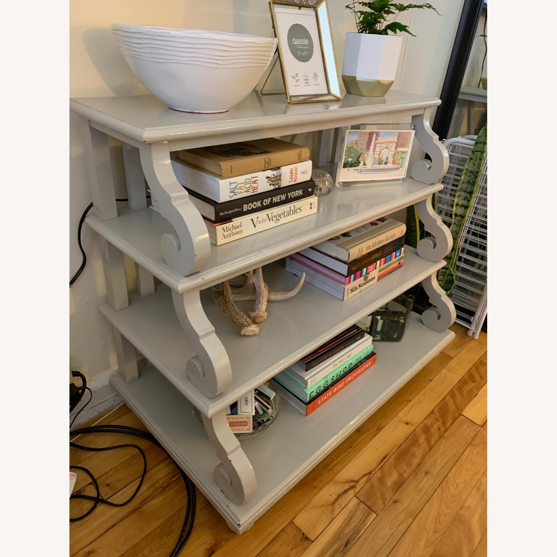 Ballard Designs 4 Shelf Side Table - image-2