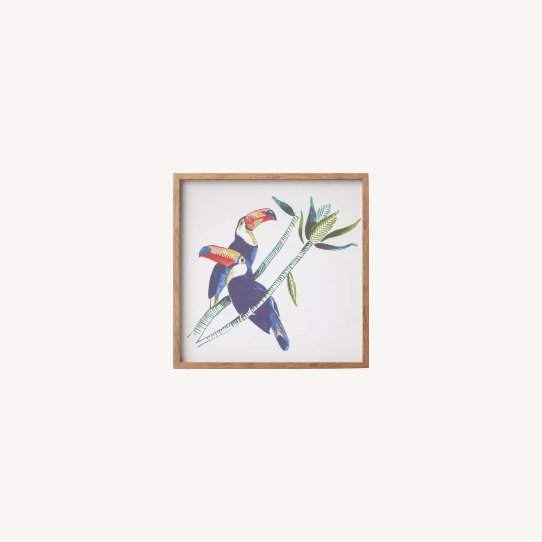 Target Framed Toucan Canvas - image-0