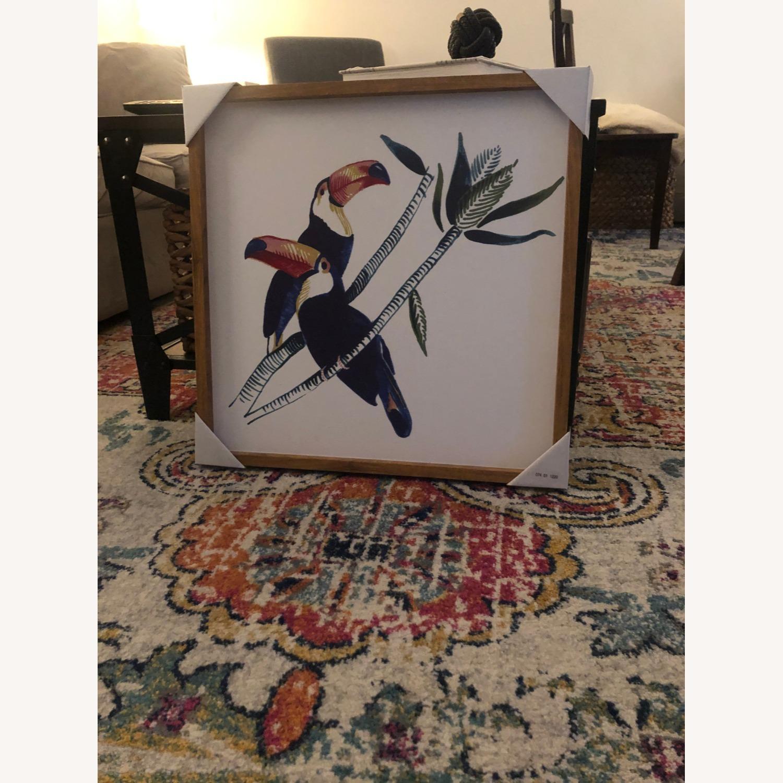 Target Framed Toucan Canvas - image-2