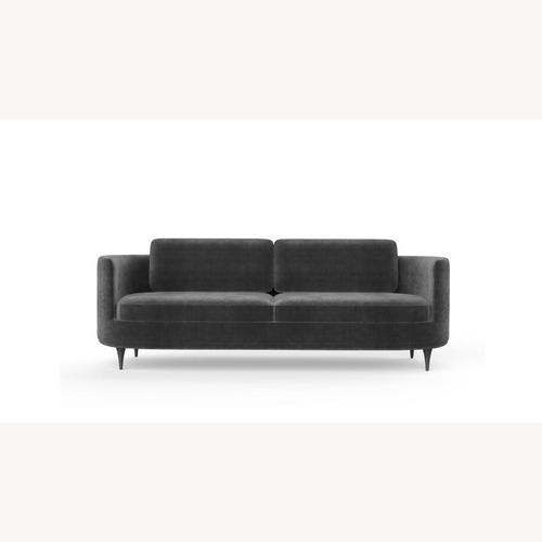 Used Scandinavian Designs Astha Velvet Sofa for sale on AptDeco