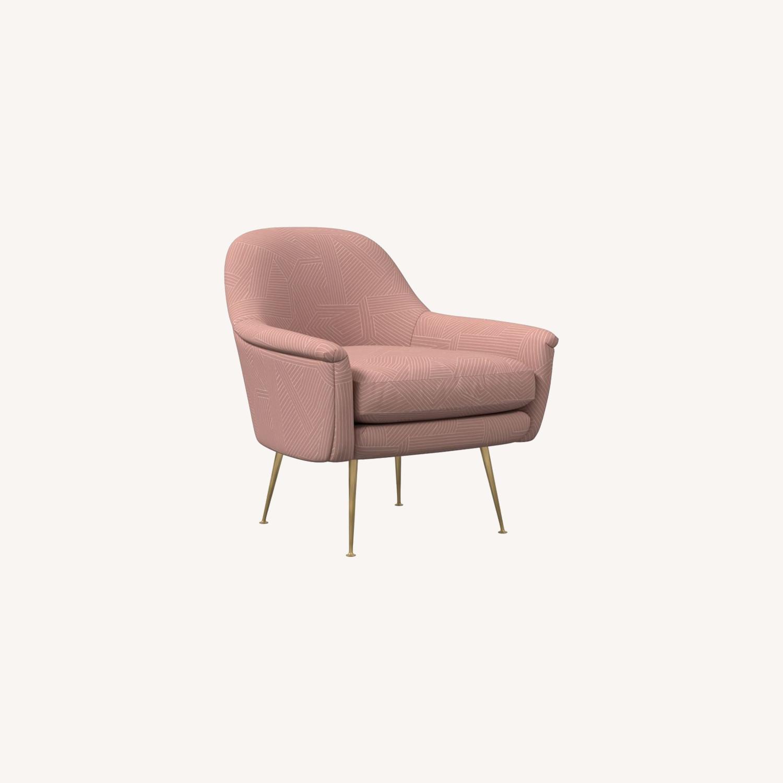 West Elm Phoebe Midcentury Chair - image-0
