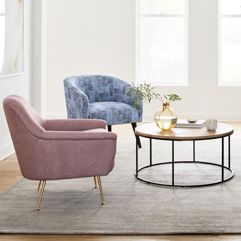 West Elm Phoebe Midcentury Chair - image-3