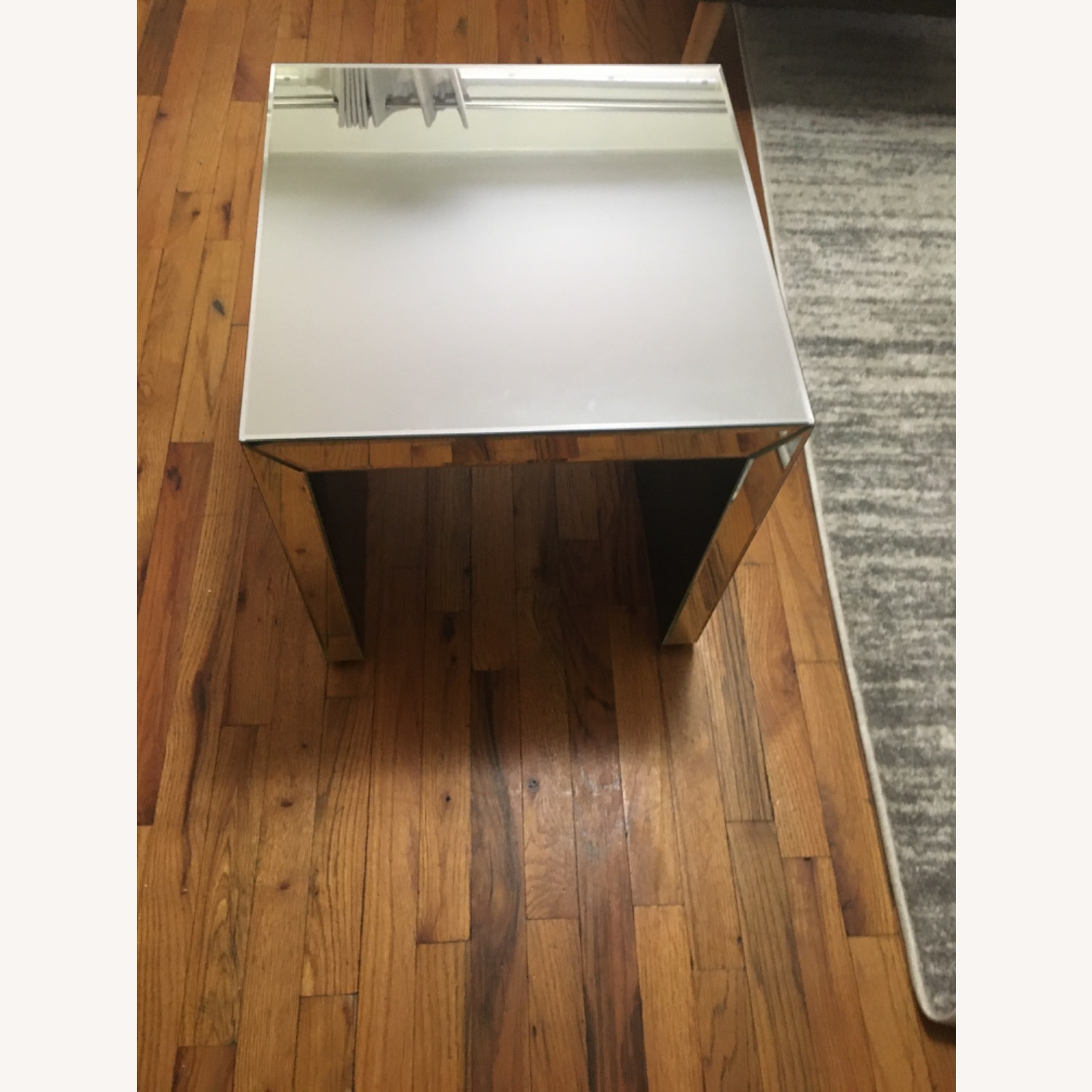 Target Mirrored Side Table - image-1