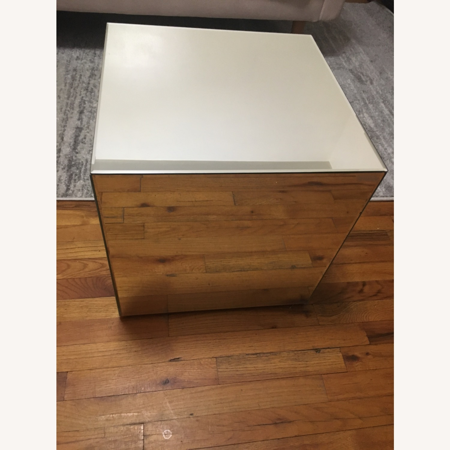 Target Mirrored Side Table - image-2