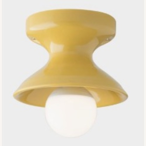 Used Schoolhouse Electric Alabax Fixture in Marigold for sale on AptDeco